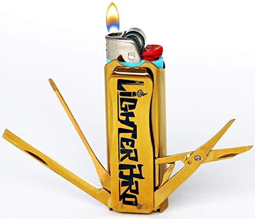 LighterBro - Funda para Encendedor de Coche (Acero Inoxidable)