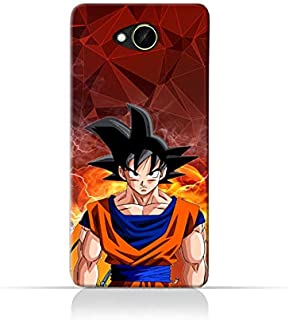 TPU Silicone Case with Dragon Ball Z Goku Design for HTC Desire 10 Compact