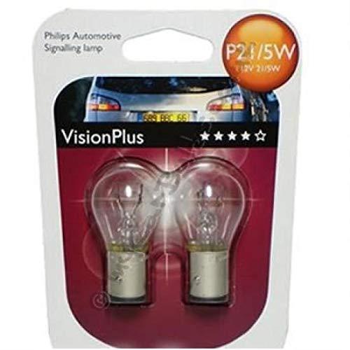 Philips 01012498VPB2 Philips-P21W Visionplus 12V 21W Ba15S