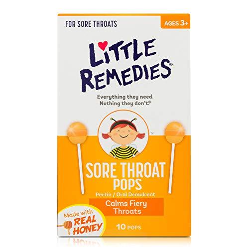 Poco recursos dolor de garganta Cop, 10Count 756184108604, Pack De 1, Reall Honey, 1