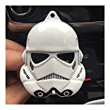 Ambientador for el Coche Clip de Aire Acondicionado, ventilación Perfume Vengadores de Marvel Spider-Man Star Wars Fan del Coche Productos Accesorios (Color Name : Black)