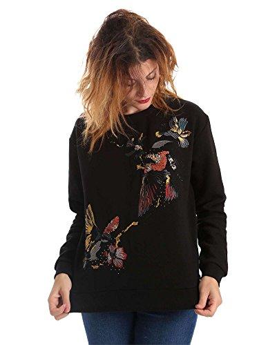 Pepe Jeans - Sweatshirt Robin dames - Kleur: Zwart - Maat: XS