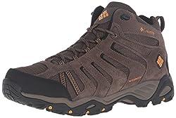 powerful Columbia North Plains II Mad Pumpkin Men's Waterproof Walking Shoes 11D US