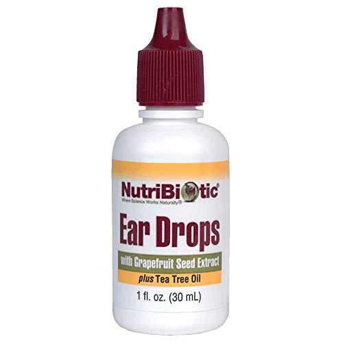 Gotas para los oídos con el extracto de semilla de pomelo, 1 oz fl (30 ml) - NutriBiotic