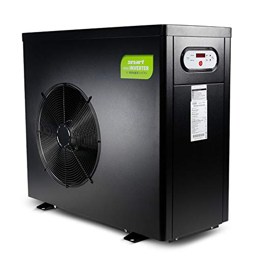 Wärmepumpe Smart Inverter 9,2 kW, Wassererwärmung, Poolheizung, Warmwasser, Wärmetauscher, Heizpumpe, Schwimmbecken, Pool