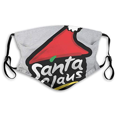 Mundschutz Mouth Cover Face Cover Santa Claus Pizza Hut Logo Christmas Unisex Mouth Muffle Face Scarf Mouth Scarf