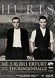 Hurts - Happiness, Erfurt 2011 » Konzertplakat/Premium