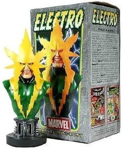 promociones de equipo Electro (Spider-Man) Mini Bust by Bowen Designs  by by by Bowen Designs  Más asequible