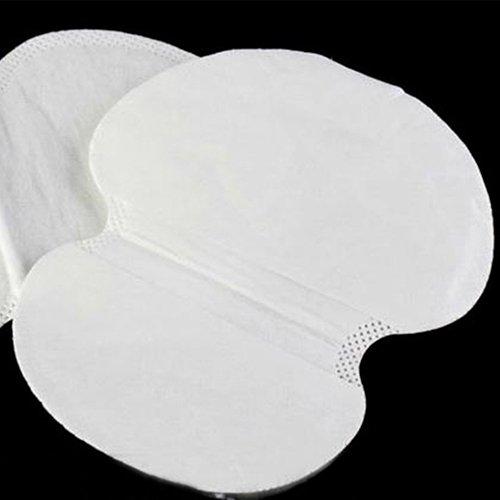 Dontdo Lot de 12 coussinets de sueur ultra-fins et absorbants pour les aisselles et les odeurs, anti-transpiration, hygiéniques, confortables
