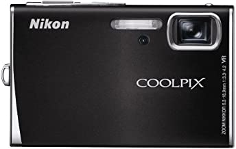 Nikon Coolpix S51 8.1MP Digital Camera with 3x Optical Vibration Reduction Zoom (Matte Black)