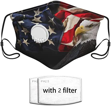 North American Condor Flag Patriotic Balaclava Mouth Cover Reusable Breathable Face Decoration product image
