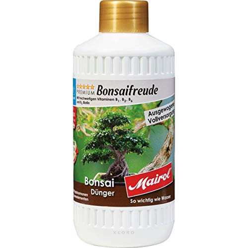 Mairol Bonsai-Dünger Liquid 500 ml Bonsaifreude 49056