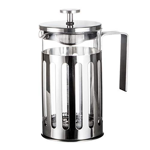 HshDUti 350/600 / 1000ml Edelstahl French Press Kaffeemaschine Haushalt Teekanne Krug 350ml