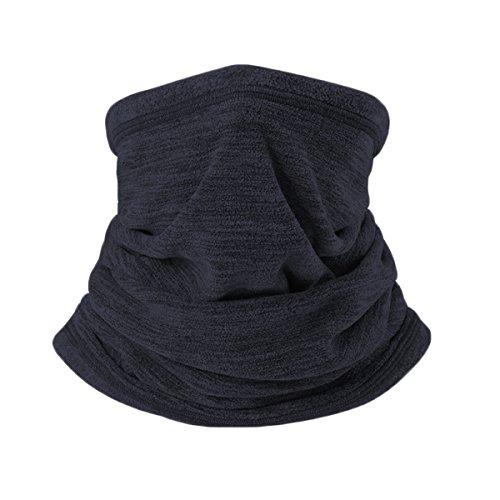 Jiele Heren Nekwarmer Loop-sjaal, multifunctioneel, zwart