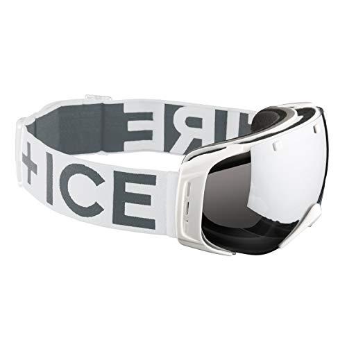 Bogner Fire + Ice Snow Goggles Ski-Brille Plus | White
