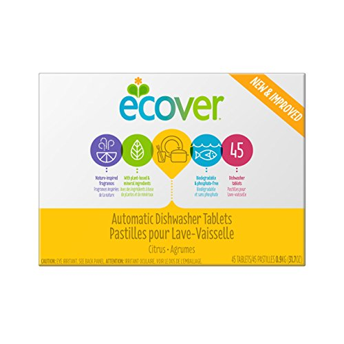 Mejor Ecover Automatic Dishwasher Soap Tablets, Citrus, 45 Count crítica 2020