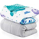 Weighted Blanket for Kids 5lbs   Throw Weighted Blanket for Adults  ...