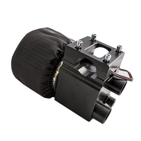 PCI Race Radios Dual Boost Fresh Air Pumper For 1.75 Inch Tubing