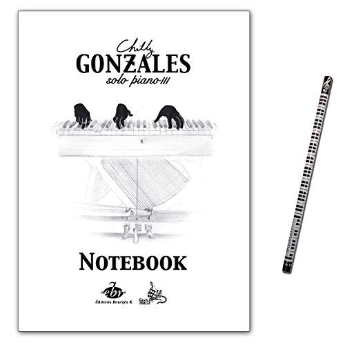 Chilly Gonzales - NoteBook Solo Piano III - Notenbuch mit Musik-Bleistift - EBR532 9790560154558