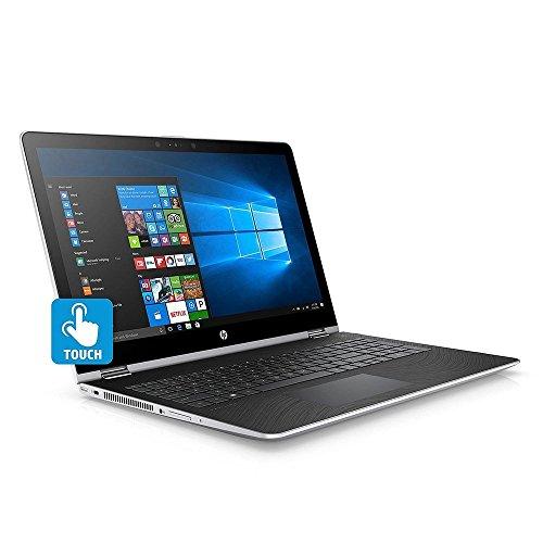 "HP 15.6"" FHD Touchscreen Convertible 2 in 1 Laptop / Tablet, Intel Core i5-7200U, 8GB DDR4 RAM, 128GB SSD + 1TB HDD, Radeon 530 Graphics, Windows 10"
