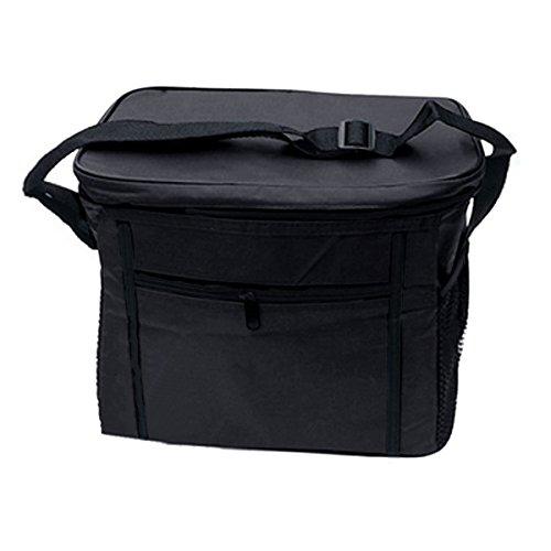 Sac Isotherme Sac à Déjeuner Pliable Grande Capacité Sac Fraîcheur Portable Lunch Bag Boîte Alimentaire Transport de Nourriture Multifonction Pour Camping/ Pique-Nique/ Barbecue/ Randonnée