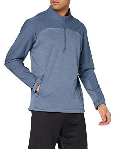 adidas Go-to 1/4 Zip Tuta Sportiva, Blu (Azul CY9384), X-Large Uomo