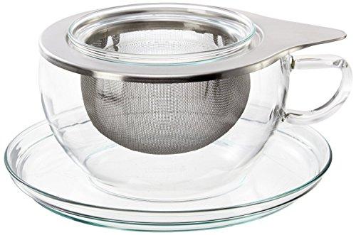 Trendglas Jena Tee-Obere m. Untere, Glas, Sonstige