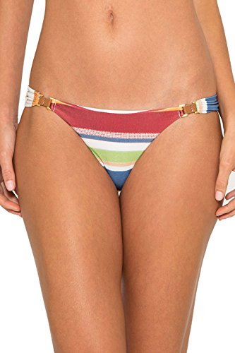 Lenny Niemeyer Women's Creta Tab Side Hipster Bikini Bottom Creta M