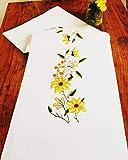 Kamaca Kit de broderie au point de croix Motif soleil 40 x 100 cm