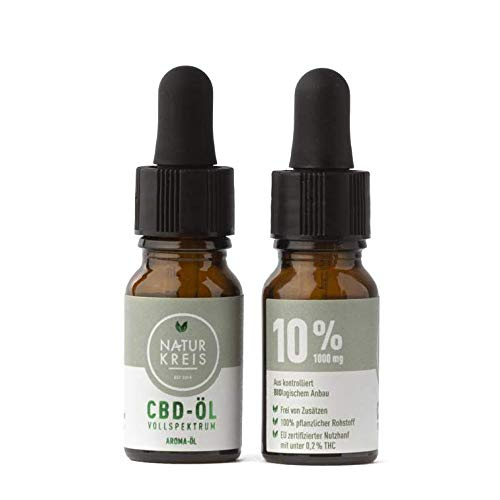 CBD Aroma-Öl Vollspektrum 10%
