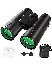 Prismáticos Profesionales Pequeños,Binoculares para Adultos HD Ideales para Observación de Aves, Caza, Senderismo, Astronomía y Camping.