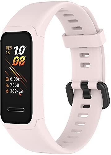 Gransho Correa de Reloj Compatible con Huawei Band 4 / Honor Band 4, Impermeable Reemplazo Correas Reloj Silicona Banda (Pattern 2)