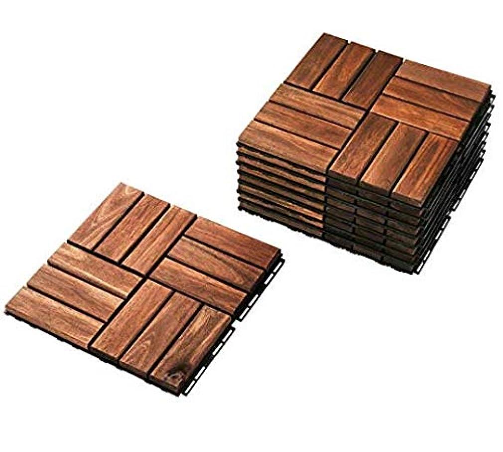 増幅器テープ葉を集めるIKEA RUNNEN 27枚セット フロアデッキ タイル  連結可能