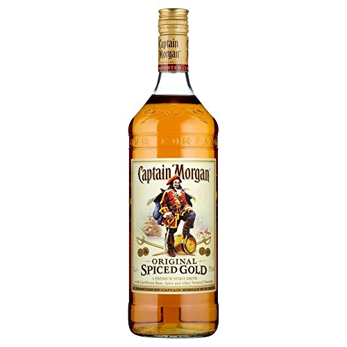 Captain Morgan Spice Gold Ron - 1000 ml