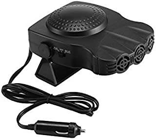Portable Car Heating Fan, ixaer Windshield Defrosts Demister Car 2 in 1 Fast 30 Seconds Heating/Cooling Fan