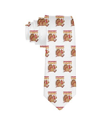 Corbata para hombre, corbata clásica, informal, formal, elegante, lindo, acción de gracias, pavo, corbata blanca para boda, fiesta, graduación, negocios