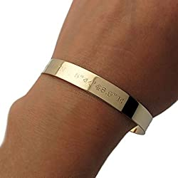 Gifts for mom - best Mother's day ideas. engraved bracelet