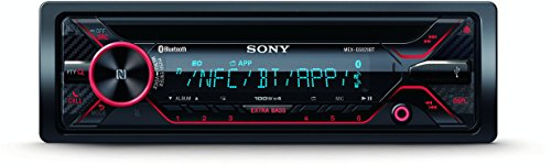 SONY MEX-GS820BT CD-Autoradio (4 x 100 Watt, Blueooth, NFC, Time Alignement, 3 PreOut, Freisprechen und Streaming)