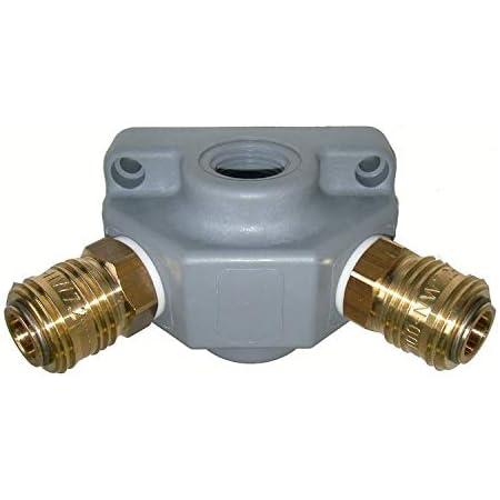 Endverteilerdose Ev 12 G3 Kupplung 3 Fach G 1 2 Druckluftverteiler Kunststoff Baumarkt