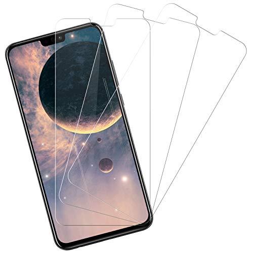Snnisttek Protector Pantalla para Huawei Honor 8X, 3-Unidades Cobertura Toda Pantalla Cristal Templado Huawei Honor 8X, Alta Definicion, Vidrio Templado, 9H Dureza, Sin Burbujas Anti-Arañazos