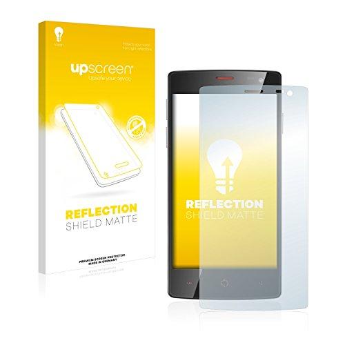upscreen Entspiegelungs-Schutzfolie kompatibel mit Ulefone Be X – Anti-Reflex Bildschirmschutz-Folie Matt