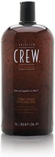 American Crew Firm Hold Gel 33.8 Oz (Pack of 2)