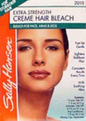 Sally Hansen Crème décolorante extra forte - Pour les poils des bras, jambes et visage (Lot de 2)