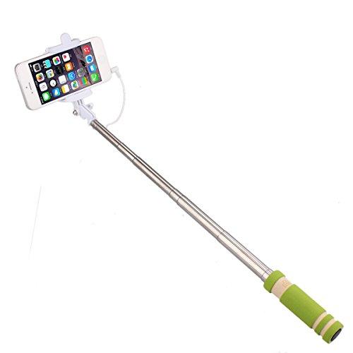 iVoltaa Wired Selfie Stick (Green)