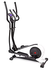 SportPlus crosstrainer with app control, Kinomap, ergometer up to 240 watts, approx. 18kg flywheel, 24 resistance levels & training programs, users up to 130kg, elliptical trainer, safety checked