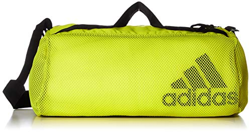adidas W ST Duffel MS, Gym Bag Womens, Acid Yellow/Black, NS
