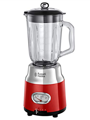 Russell Hobbs 25190-56 Retro Blender, 800W, Red