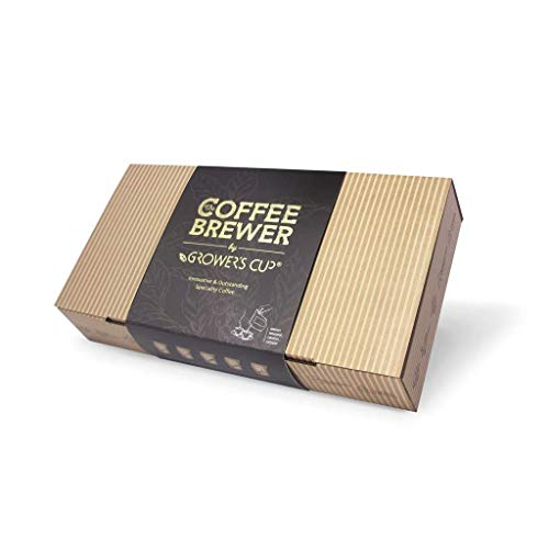 Grower's Cup Coffee-Brewer 10pcs Gift Box Assortment - Perfect Gift Item for The Coffee Lovers. All Our Coffees are Fairtrade and Hand-Roasted. (Gift Box Assortment)