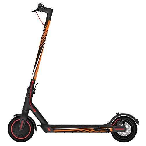 STYLISH SCOOTERS Pegatinas Xiaomi M365, Sport Orange Vinilo Decorativo para tu Patinete...