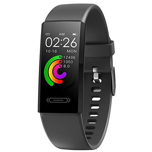 BOZLUN Smartwatch,Reloj Inteligente para Hombre Mujer Pantalla a Color de 1.14 ''...